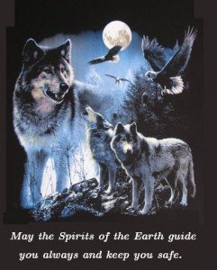 Wolf blessing